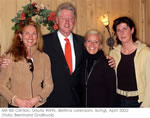 Mit Bill Clinton